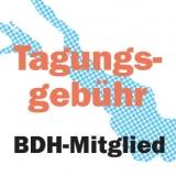 Tagungsgebühr mit Verpflegung BBH-Mitglied