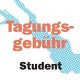 Tagungsgebühr mit Verpflegung Student